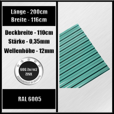 ral 6005 200cm