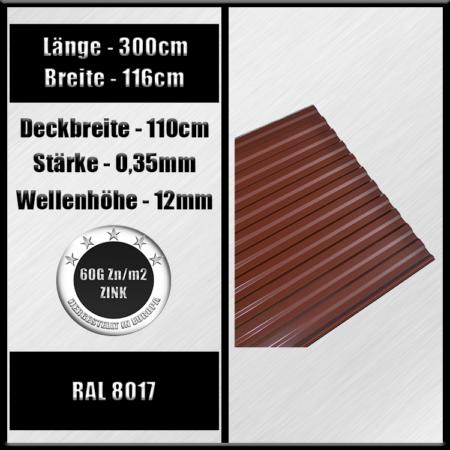 ral 8017 300cm